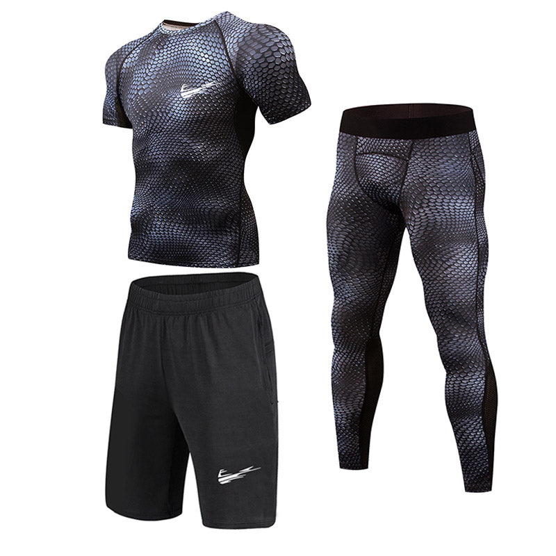 Men Sportswear set-  Quick Dry - 3pcs each Set