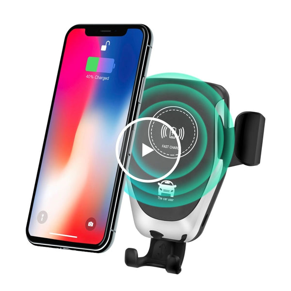 Auto Wireless Car Charger 10w with Mount