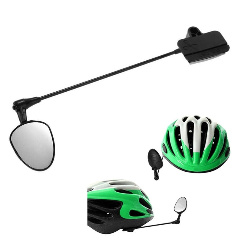 Bicycle Riding Mirror Lightweight aluminum Helmet