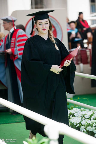 Megan Cox at her MIT graduation