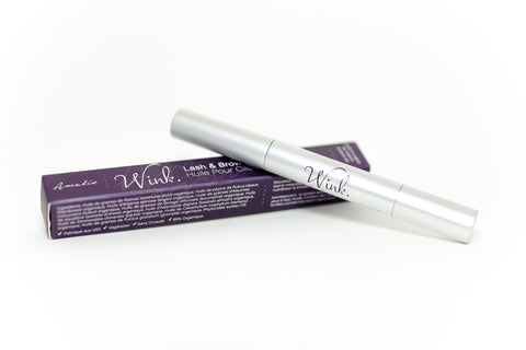 56866ad82dd WINK organic lash & brow repairing and enhancing oil | Amalie