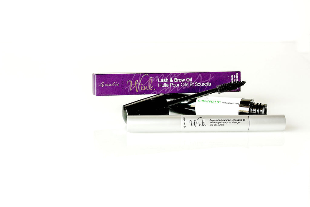 Love your Lashes 24/7: Wink Lash Oil & Grow for It Mascara!