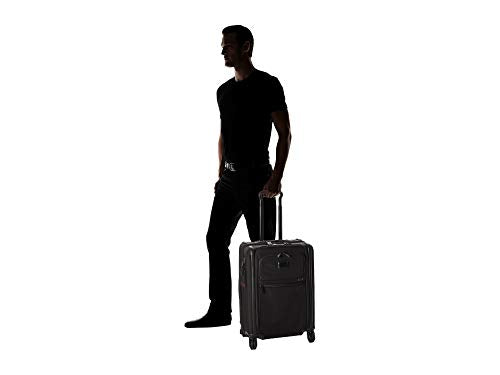 TUMI - Alpha 3 Continental Expandable 4 Wheeled Carry-on - 22 Inch Rolling Suitcase for Men and Women - Black