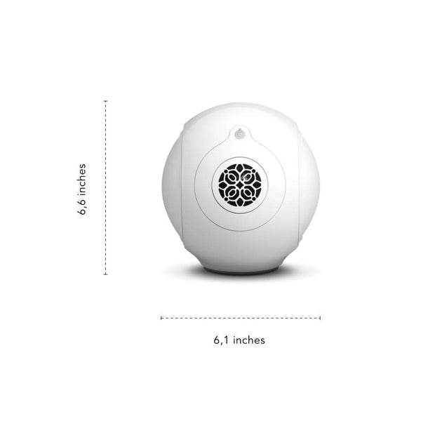 Devialet Phantom Reactor 600 - Compact wireless speaker - 600 Watts - 95 dB, Iconic White