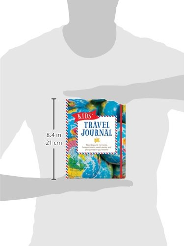 Kids' Travel Journal (Interactive Diary, Notebook)