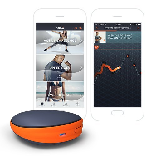 Activ5 Isometric Based Exercise - No Impact Muscle Activation - Portable Full-Body Workout and Strength Training Device with Free Coaching App