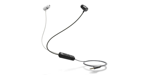 EVEN EarPrint E1 in-Ear Headphones That Adapt to The Way You Hear - with Mic (Black and White)