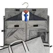 Convertible Garment Bag with Shoulder Strap, Modoker Carry on Garment Duffel Bag for Men Women - 2 in 1 Hanging Suitcase Suit Travel Bags