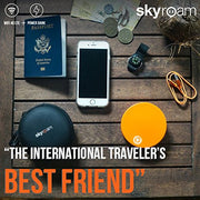 Skyroam Solis: Mobile WiFi Hotspot & Power Bank // Unlimited Data // Global SIM-Free 4G LTE // Pay-as-You-go // Coverage in North America, South America, Europe, Asia, Africa, Australia