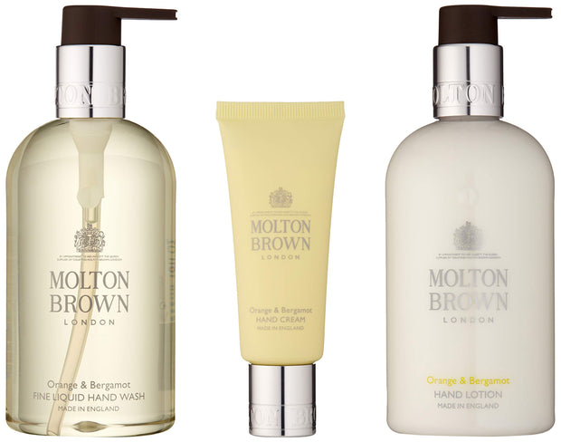 Molton Brown Orange & Bergamot Hand Rituals Gift Set, 10 Fl. Oz.