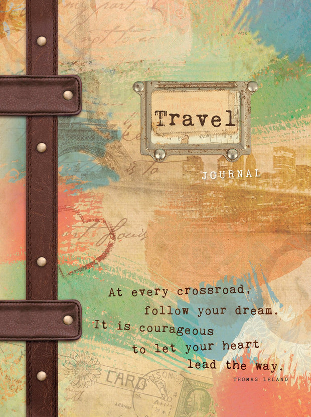 Hardcover Travel Journal & Notebook