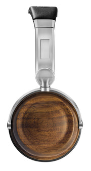 EVEN EarPrint H2 Bluetooth Wireless Headphones that Adapt to the Way You Hear — with Mic (Walnut and Steel)