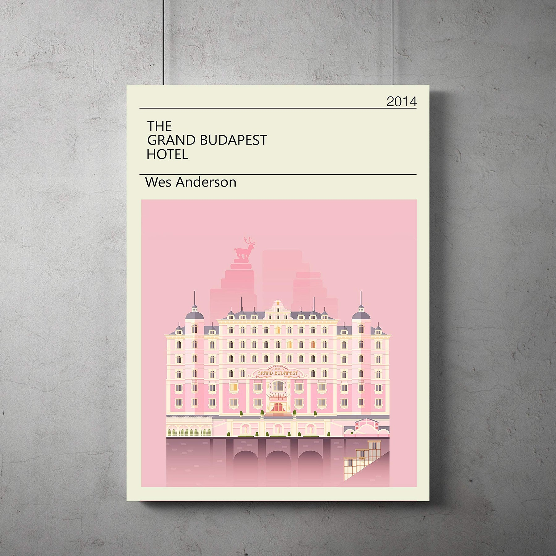 Wes Anderson Coffee Table Book.Grand Budapest Hotel Vintage Poster Grand Budapest Minimalist Print Wes Anderson Art All Prints Avialable In 9 Sizes And 3 Type Of Materials