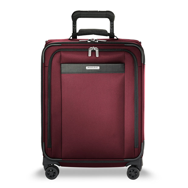 "Briggs & Riley Transcend Wide Carry-on Expandable 21"" Spinner, Merlot"