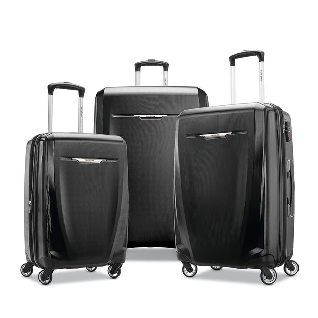 Samsonite 3 Pc (20/24/28), Black