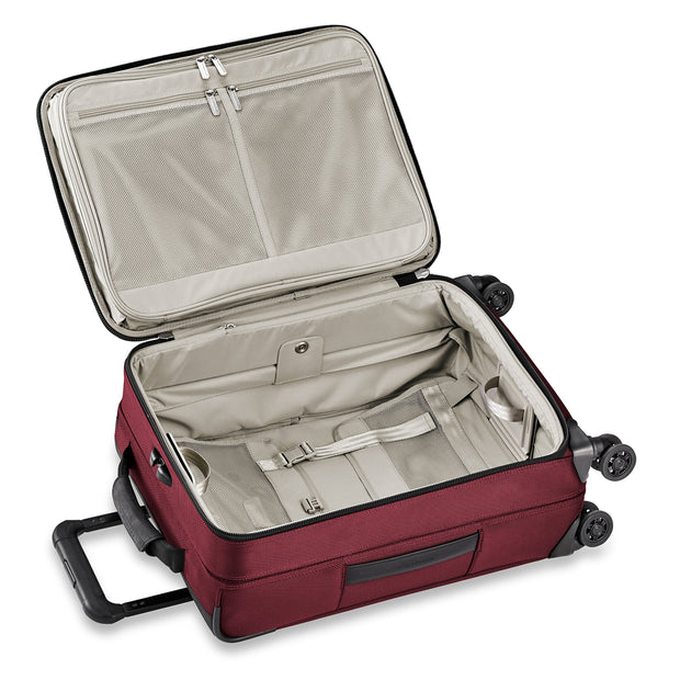 "Briggs & Riley Transcend Tall Carry-on Expandable 22"" Spinner, Merlot"