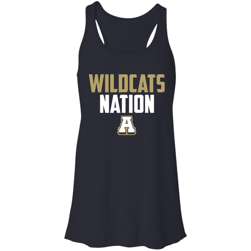 Wildcat Nation Flowy Racerback Tank