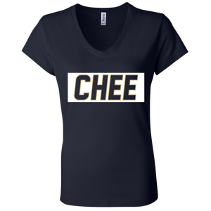 Chee Ladies' Jersey V-Neck T-Shirt