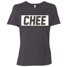 Load image into Gallery viewer, Chee Ladies' Relaxed Jersey Short-Sleeve T-Shirt