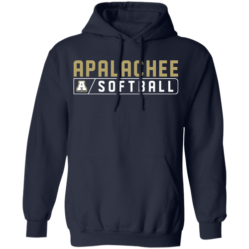 Wildcat Softball Bar Logo Pullover Hoodie 8 oz.