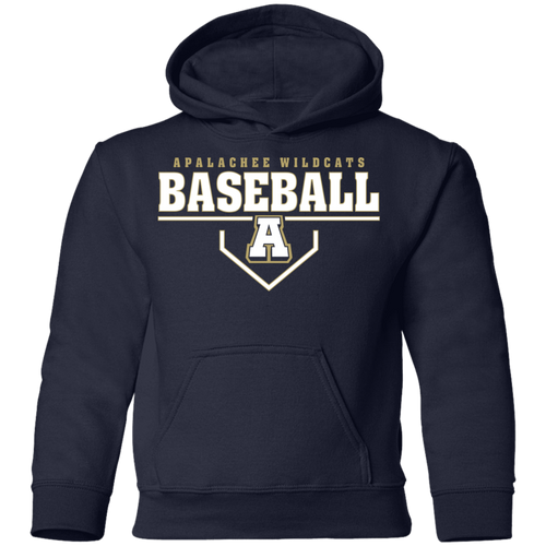 Baseball Plate Logo Youth Pullover Hoodie