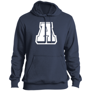 A Logo (wht)  Tall Pullover Hoodie