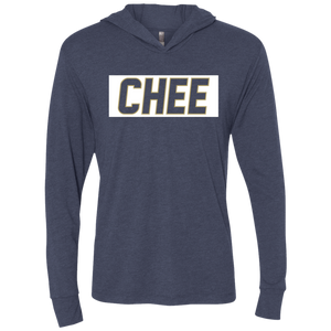Chee Unisex Triblend LS Hooded T-Shirt