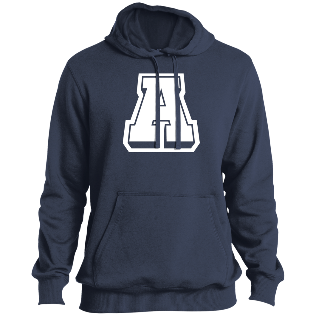 A Logo (wht) Performance Pullover Hoodie