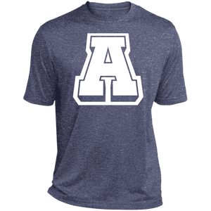 A Logo (wht)  Heather Dri-Fit Moisture-Wicking T-Shirt