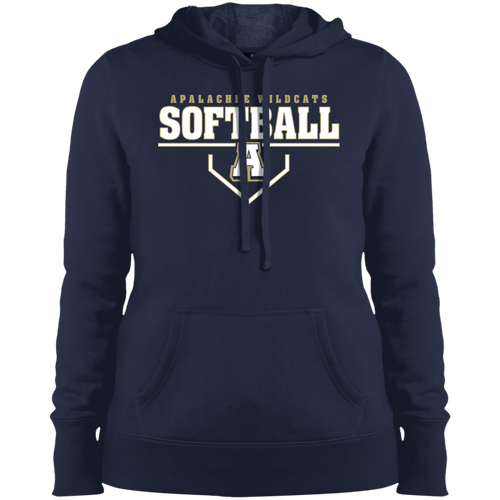 Wildcat Softball Plate Logo Performance Ladies' Pullover Hooded Sweatshirt