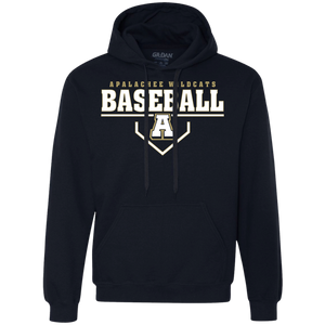 Baseball Plate Logo Heavyweight Pullover Fleece Sweatshirt