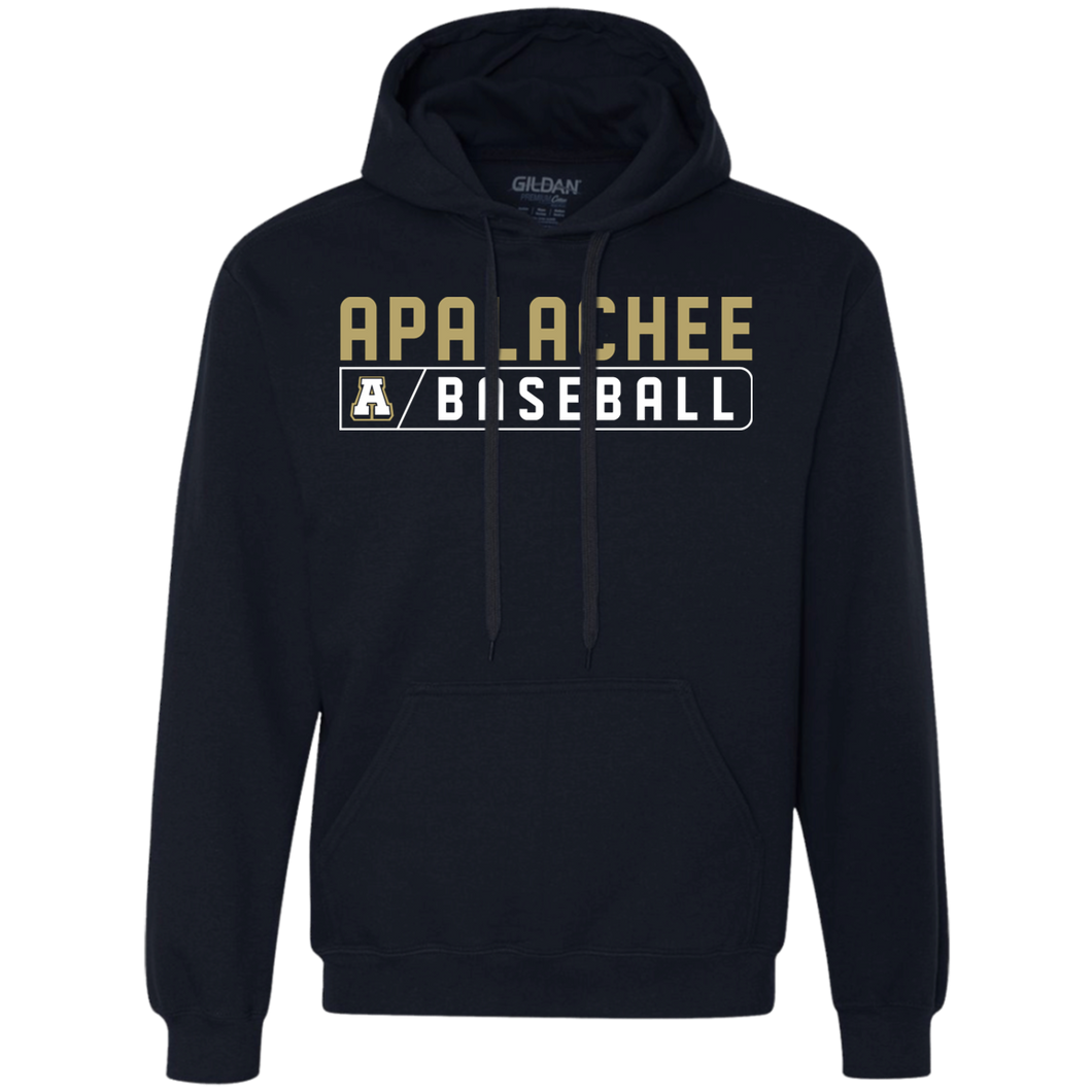 Baseball Bar Logo Heavyweight Pullover Fleece Sweatshirt