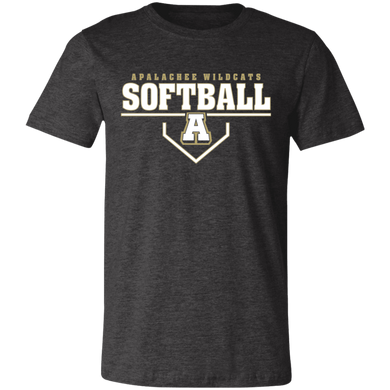 Wildcat Softball Plate Logo Jersey Short-Sleeve T-Shirt