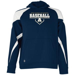 Baseball Plate Logo Youth Colorblock Hoodie