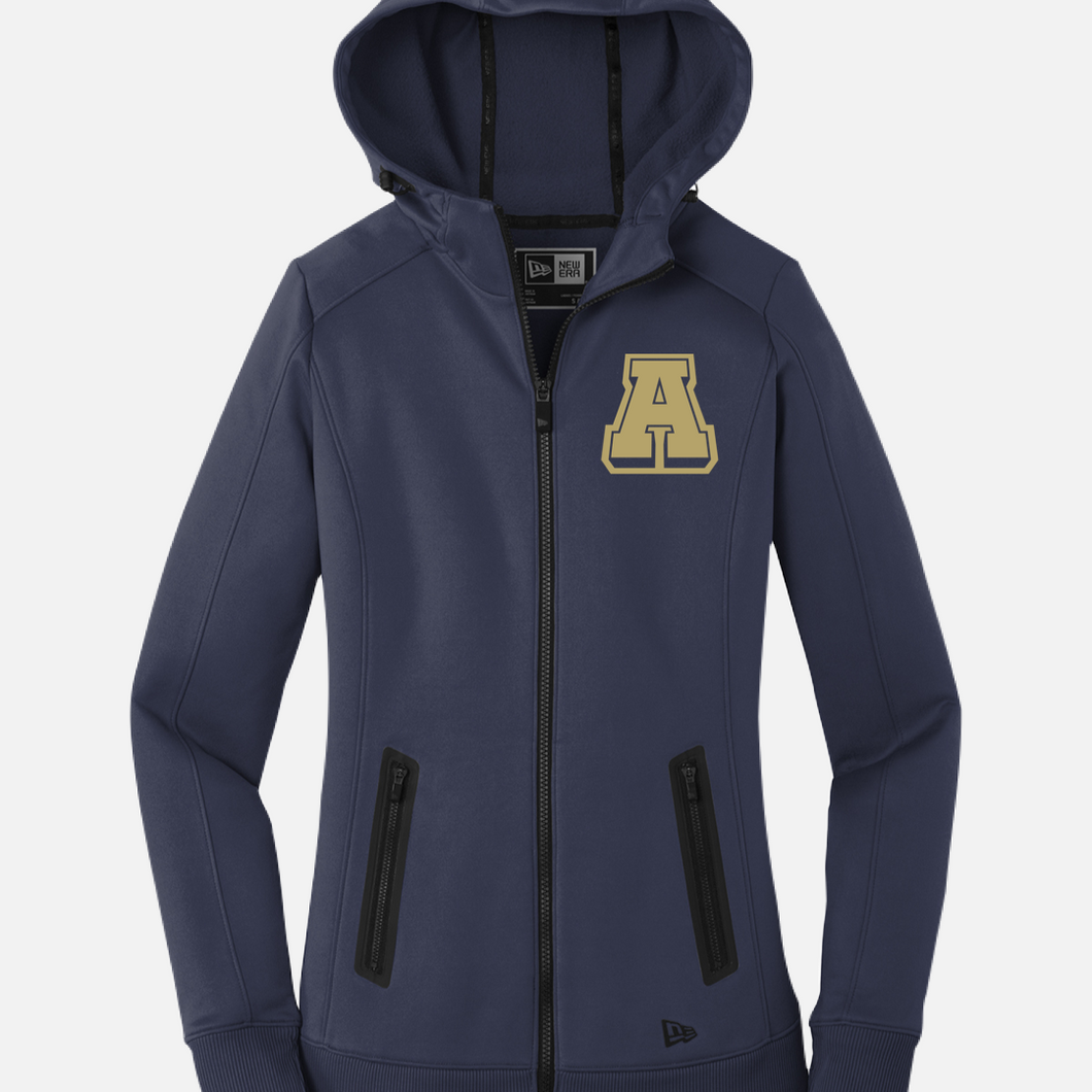New Era Cotton Full Zip Hoodie
