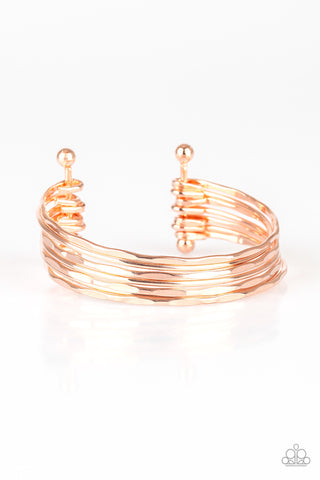 Timelessly Textured - Rose Gold