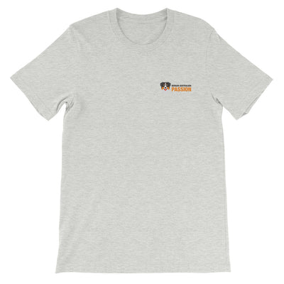 t-shirt berger australien passion gris