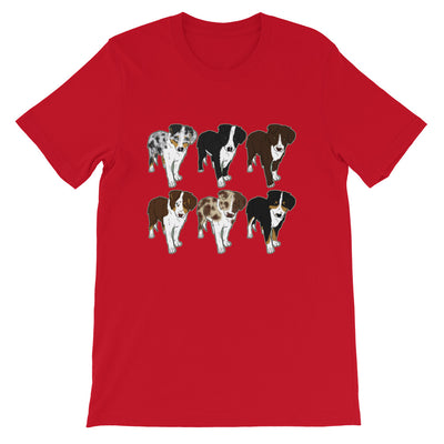 tee shirt berger australien rouge