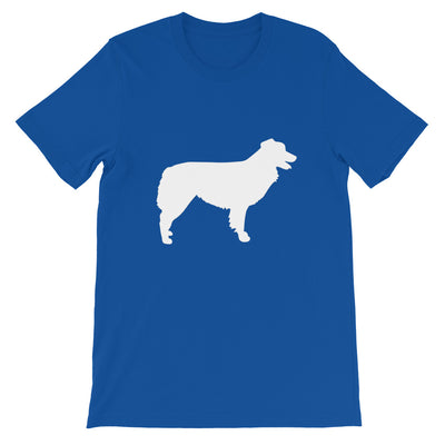 tee shirt fan berger australien bleu