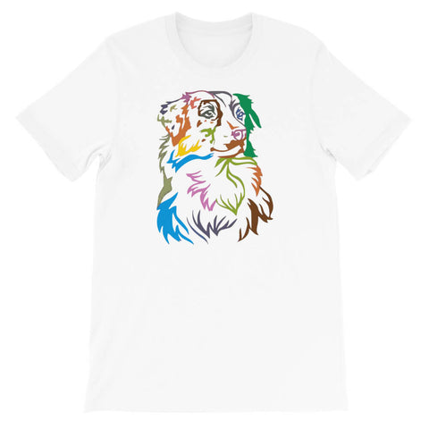 t shirt berger australien en couleur