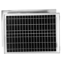 Load image into Gallery viewer, 22 Watt Roof Mounted Solar Attic Fan | Amtrak Solar | www.amtraksolar.com