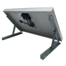 Load image into Gallery viewer, 40-Watt Powered Galvanized Steel 14 inch Solar Attic Gable Fan