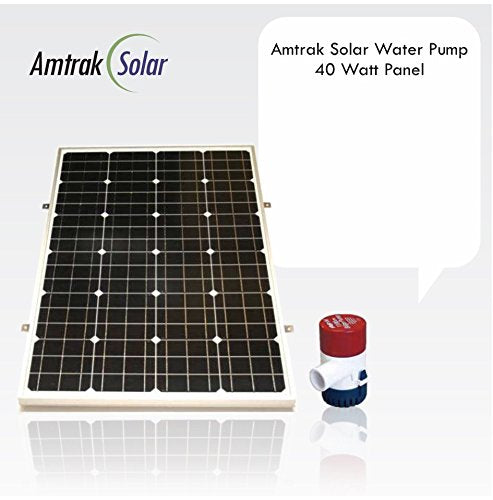 Solar Water Fountain Pump with Solar Panel (40W / 50W / 70W Panels Available)