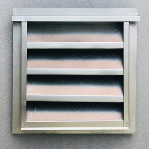 "12""w X 12""h Aluminum Outdoor Weather Proof Louver 