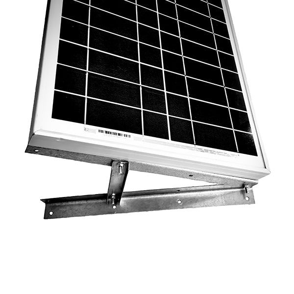 Adjustable Solar Panel Mounting Rack Bracket with Mounting Arms - Boat, RV, Roof Off Grid
