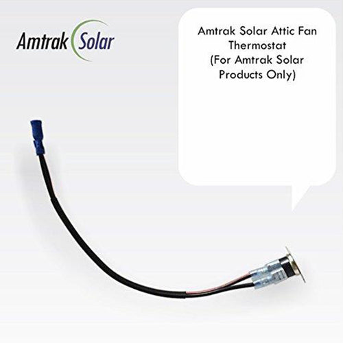 Solar Attic Fan Thermostat | Amtrak Solar | www.amtraksolar.com
