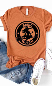 Halloween T-shirt - Basic Witch