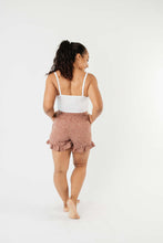 Load image into Gallery viewer, Short Leash Ruffled Shorts In Mauve