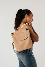 Load image into Gallery viewer, Grab N Go Vegan Leather Backpack