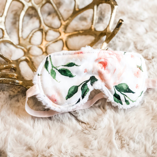 English Rose Floral Sleep Mask - Shop Life and Style